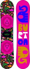 View the Burton Chicklet Kids Snowboard - 130 cm from the Kids Snowboards clothing range online today from Boarderline