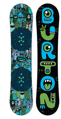 View the Burton Chopper Kids Snowboard - 125 cm from the Kids Snowboards clothing range online today from Boarderline