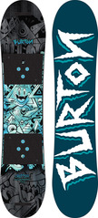 View the Burton Chopper Snowboard 2017 - 110 from the Kids Snowboards clothing range online today from Boarderline