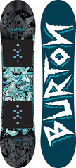 View the Burton Chopper Snowboard 2017 - 125 from the Kids Snowboards clothing range online today from Boarderline