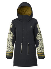 View the Burton Chuteout Jacket - True Black from the Womens Snowboard Jackets clothing range online today from Boarderline