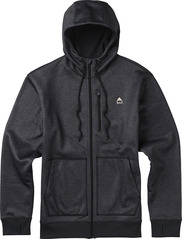 View the Burton Classic Bonded Hood - Black Heather from the Fleece/Layering clothing range online today from Boarderline