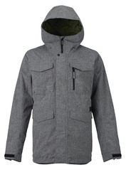View the Burton Covert Jacket - Bog Hearther from the Mens Snowboard Jackets clothing range online today from Boarderline