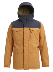 View the Burton Covert Jacket - Golden Oak/Denim from the Mens Snowboard Jackets clothing range online today from Boarderline