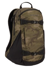 View the Burton Day Hiker 25L Backpack - Worn Camo Print from the Backpacks clothing range online today from Boarderline