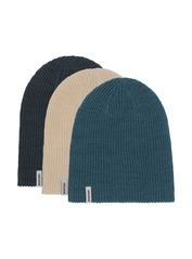 View the Burton DND Beanie 3 Pack - Dress blue/Storm blue/Almond milk from the Beanies clothing range online today from Boarderline