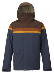 View the Burton Docket Jacket - Chestnut Cord/Clay/Golden Oak/Mood Indigo from the Mens Snowboard Jackets clothing range online today from Boarderline