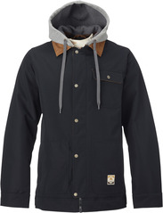 View the Burton Dunmore Jacket - True Black Oxford from the Mens Snowboard Jackets clothing range online today from Boarderline