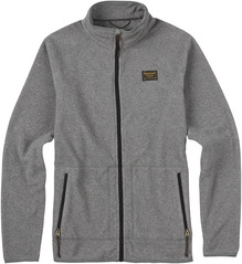 View the Burton Ember Fleece - Ash from the Fleece/Layering clothing range online today from Boarderline