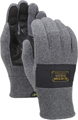 View the Burton Ember Fleece Glove - Faded Heather from the Mens clothing range online today from Boarderline