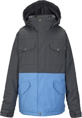 View the Burton Fray Jacket - Faded/Blue Steel from the Jackets clothing range online today from Boarderline