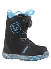 View the Burton Grom Boa Kids Snowboard Boot - Black from the Kids Snowboard Boots clothing range online today from Boarderline