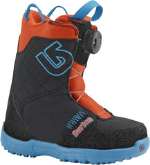 View the Burton Grom Boa - Webslinger Blue from the Kids Snowboard Boots clothing range online today from Boarderline