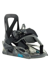 View the Burton Grom Youth Kids XS Snowboard Bindings - Black from the Kids clothing range online today from Boarderline