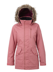 View the Burton Hazel Jacket - Dusty Rose Wax from the Womens Snowboard Jackets clothing range online today from Boarderline