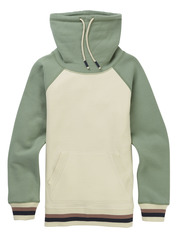 View the Burton Indie Trip Funnel Neck - Canvas from the Fleece/Layering clothing range online today from Boarderline