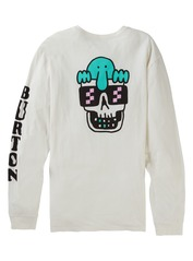 View the Burton Kilroy Longsleeve - White from the T-Shirts clothing range online today from Boarderline