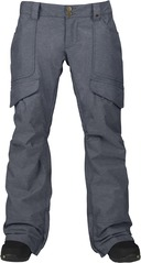 View the Burton Lucky Pant - Blue Denim from the Womens Snowboard Pants clothing range online today from Boarderline