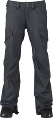 View the Burton Lucky Pant - Denim from the Womens Snowboard Pants clothing range online today from Boarderline