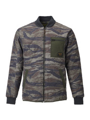 View the Burton Mallett Jacket - Olive Green Worn Tiger from the Jackets clothing range online today from Boarderline