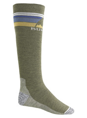 View the Burton Mens Emblem Sock - Olive Heather  from the Mens Socks clothing range online today from Boarderline