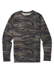 View the Burton Midweight Crew - Olive Green Worn Tiger from the Base Layers clothing range online today from Boarderline