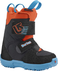 View the Burton Mini Grom Boot - Webslinger Blue from the Kids Snowboard Boots clothing range online today from Boarderline
