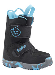 View the BURTON MINI GROM KIDS SNOWBOARD BOOT - BLACK from the Kids Snowboard Boots clothing range online today from Boarderline