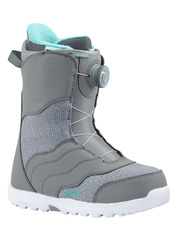 View the Burton Mint Boa Snowboard Boot 2018 - Grey from the Womens Snowboard Boots clothing range online today from Boarderline