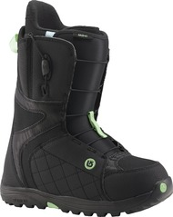 View the Burton Mint Snowboard Boot 2016 - Black/Mint from the Womens Snowboard Boots clothing range online today from Boarderline