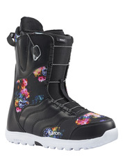 View the Burton Mint Snowboard Boot 2018 - Black/Multi from the Womens Snowboard Boots clothing range online today from Boarderline