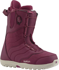 View the Burton Mint Snowboard Boots 2017 - Cabernet from the Womens Snowboard Boots clothing range online today from Boarderline