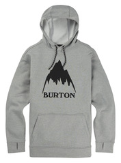 View the Burton Oak Hood - Monument Heather from the Fleece/Layering clothing range online today from Boarderline