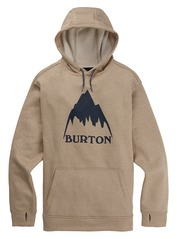 View the Burton Oak Hood - Taupe Heather from the Fleece/Layering clothing range online today from Boarderline