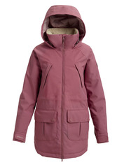 View the Burton Prowess Jacket - Rose Brown from the Womens Snowboard Jackets clothing range online today from Boarderline
