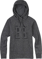 View the Burton Quartz Hood - True Black Heather from the Fleece/Layering clothing range online today from Boarderline