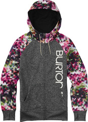 View the Burton Quartz Zip Hood - Pixie from the Fleece/Layering clothing range online today from Boarderline