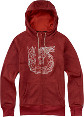 View the Burton Quartz Zip Hood - Tropic Heather from the Fleece/Layering clothing range online today from Boarderline
