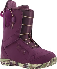 View the Burton Ritual Snowboard Boot 2015 - Berry Kimmy Kammo from the Womens Snowboard Boots clothing range online today from Boarderline