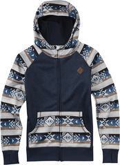 View the Burton Scoop Hood - Banded Geo from the Fleece/Layering clothing range online today from Boarderline