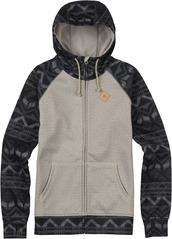 View the Burton Scoop Hood - Dove Heather from the Fleece/Layering clothing range online today from Boarderline