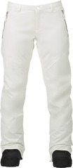 View the Burton Society Pant - Stout White from the Womens Snowboard Pants clothing range online today from Boarderline