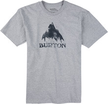 View the Burton Stamped T-Shirt - Heather Grey from the T-Shirts clothing range online today from Boarderline
