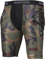 View the Burton Total Impact Shorts - Highland Camo from the Body Armour clothing range online today from Boarderline