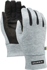 View the Burton Touch N Go Glove - Heather Grey from the Mens clothing range online today from Boarderline
