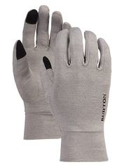 View the Burton Touchscreen Glove - Grey Heather from the Mens clothing range online today from Boarderline