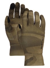 View the Burton Touchscreen Glove - Worn Camo from the Mens clothing range online today from Boarderline