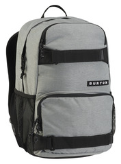 View the Burton Treble Yell Pack - Grey Heather from the Backpacks clothing range online today from Boarderline