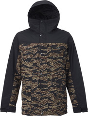 View the Burton TWC Greenlight Jacket - True Black/Tiger Camo from the Mens Snowboard Jackets clothing range online today from Boarderline
