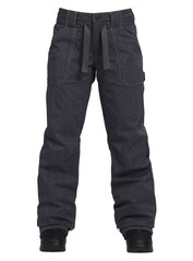 View the Burton Veazie Pant - Denim from the Womens Snowboard Pants clothing range online today from Boarderline